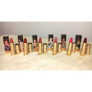 Colourpop x Disney 6 Créme Lux Lipstick Collection